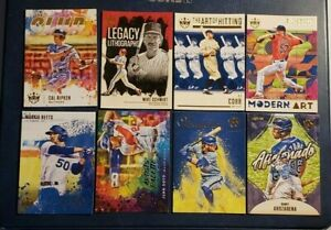 2021 Diamond Kings Baseball Inserts with Stars and Hall of Famers You Pick