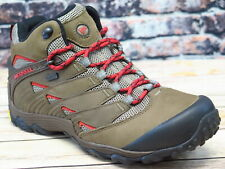 Merrell Chameleon 7 Mid Waterproof Boulder Leather Hiker  *J12041