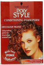 Schwarzkopf Poly Style Foam Perm Dry/Colour Treated Hair
