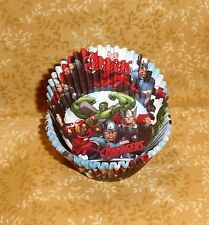 Avengers,Thor,Captain America,Hulk,Cupcake Papers,Paper,50 Ct.,Wilton,415-4110