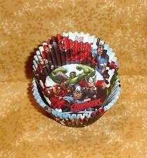 Avengers,Thor,Captain America,Hulk,Cupcake Papers,Paper,50 Ct.,Wilton,415-4110