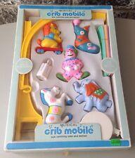 Vintage# Classic Developmental Mobile Nursery Toy Crib Baby#Nib Rare