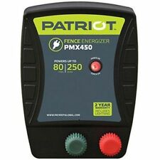 Patriot Pmx450 Electric Fence Charger Energizer | 4.5 Joule, 80 mile / 250 acre
