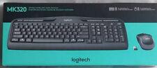 New Logitech 920-002836 MK320 2.4 GHz Wireless Desktop Set