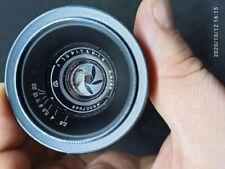 Jupiter-12 black 2.8/35 mm lens  for Leica Zorkii Fed