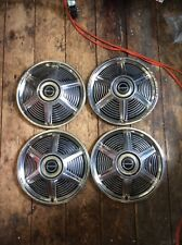 65 Ford Mustang Hubcaps  14""