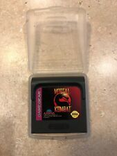 Mortal Kombat (Sega Game Gear, 1992)
