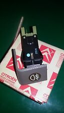 CITROEN BX PULSANTE TASTO ANTINEBBIA FOG LIGHT SWITCH BOUTON FEUX ANTIBROUILLARD