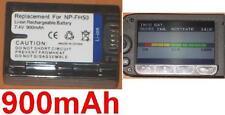 Batterie 900mAh type NP-FH30 NP-FH40 NP-FH50 Pour Sony HDR-CX115E