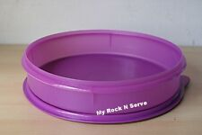 Tupperware Round  Pie Taker or for Cupcakes Container Purlicious  3.7 Liter New