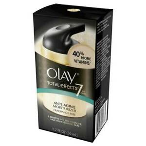 Olay total effects anti aging vitamin complex 7 in 1, fragrance free - 1.7 Oz