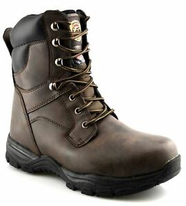 Mens Water Resistant 3M Thinsulate Insulated Safety Steel Work Ankle Boots Shoes