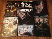 Strategy Guide Lot InFamous, The Godfather, Assassins Creed 4, Call of Duty
