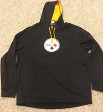 Pittsburgh Steelers Majestic Therma Base Hoodie Size 2XL  New