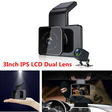 3Inch IPS LCD Car DVR Dual Lens Driving Recorder Camera WIFI GPS Night Vision