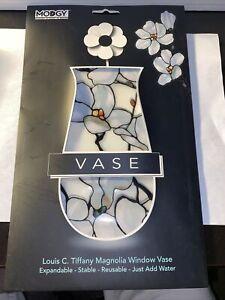 Modgy Vase Collapsible / Expandable Flower Vase - Tiffany Magnolia Window Vase