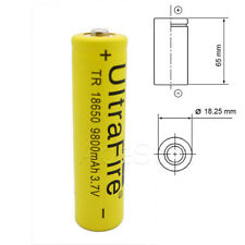 High Capacity 9800mAh Rechargeable Extra Li-ion Battery for LED Flashlight Torch