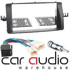 DFP-11-04 Toyota Corolla E12 Car Stereo Double Din Fascia Panel & Wiring Harness