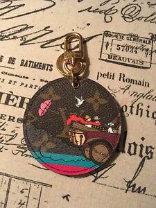 Authentic Louis Vuitton Evasion illustre bag charm keychain limited edition