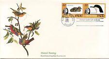 ENVELOPPE / BIRDS OF THE WORLD /  / FAUNE /  OISEAU / PALAU / 1985