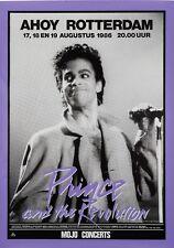 "Prince Rotterdam 16"" x 12"" Photo Repro Concert Poster"
