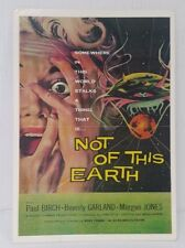 Genuine Vintage Postcard Film Movie Not of this Earth Beverly Garland