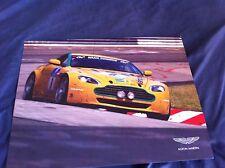 2010 Aston Martin V8 Vantage N24 Racing Car Color Brochure Prospekt
