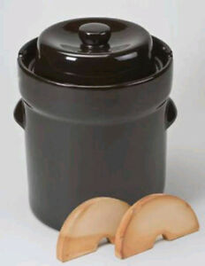 Schmitt 5, 10, 15, 20, 30, and 40 Liter Gartopf German Fermenting Crock