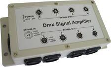 DMX 8 Channel Signal Amplifier Distribution