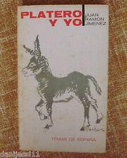 Platero y yo/ Juan Ramón Jiménez/ Taurus/ 1970/ Quinta edición/ Temas de España
