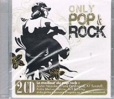 1198 // ONLY POP ROCK LE MEILLEUR DU POP ROCK  2 CD NEUF 30 TITRES NEUF