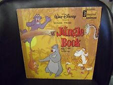 The Jungle Book Songs from Disneyland Records VG+ LP
