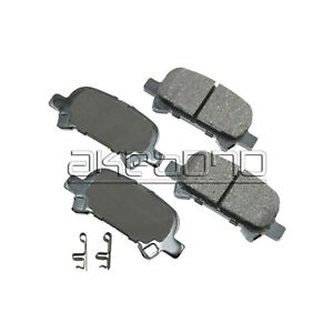 For Toyota Avalon Camry Solara 2000-08 Rear Disc Brake Pads Akebono ISD ISD828