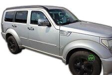 DDO13405 DODGE NITRO SUV 2007-2012 Vento DEFLETTORI interni Fit 4pc HEKO colorata