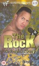 WWF The Rock Dwayne Johnson The Peoples Champ 2000 ORIG VHS WWE Wrestling