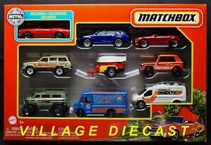 2021 Matchbox 9-Pack w/Exclusive Chevy Chevelle RED / Vantom FOREST RANGER / MIB