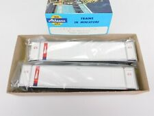HO Scale Athearn 5708 SET-2 ICSU Trans America 48' Containers #482728 & #482827