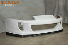 Toyota Supra Ridox Style Front Bumper with REAL CARBON Lower Lip + Undertray v6