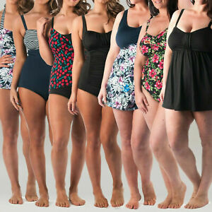 14-32 C/D DD/E   Plus Size Swimwear and Swimdress (Don't Pay Up to $55)