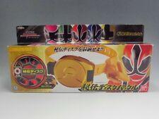 Power Rangers Samurai Sentai Shinkenger Hidden Secret Disk Buckle Belt Used