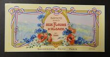 Antique Vintage French Cosmetic Label c.1920's Bind2#54