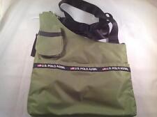 US Polo Assn. Messenger Cross Body bag  Green  New
