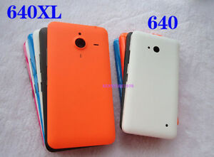 For Microsoft Nokia Lumia 640 / 640XL Back Battery Cover Housing Door Rear case