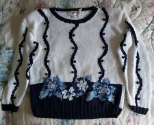 Vintage Unbranded Hand Loomed Sweater Size Large. Excellent Condition.