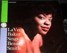 LA VERN BAKER La Vern Baker Sings Bessie Smith 1958 SOUL Jazz LP DG Black Label