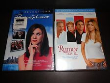 PICTURE PERFECT & RUMOR HAS IT-2 movies-JENNIFER ANISTON,KEVIN BACON,KEV COSTNER