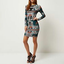 River Island Thigh-Length Stretch, Bodycon Dresses for Women