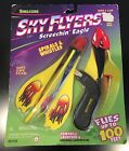 Vintage Shelcore Sky Flyers Screechin Eagle Spirals Whistles RARE 1997 NEW Flies