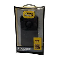 OtterBox Commuter Series for iPhone 4 and iPhone 4S Black 100% Authentic