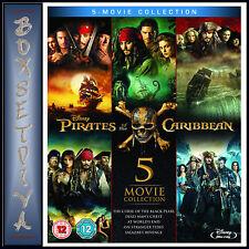 Pirates Of The Caribbean Box Set Blu Ray Discs Ebay